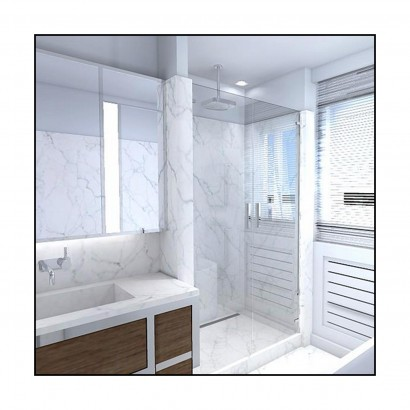 Nk design studio architecture design for Plan salle de bain 8m2